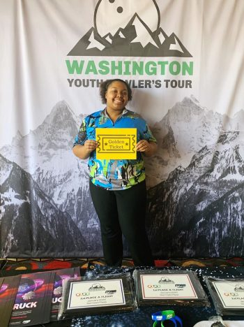 Narrows Golden Ticket To Junior Gold 2020 Sponsored By: Kevin Hong @ VintageBowling.net - Faith Hardy